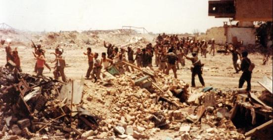 Captured Iraqis, Iraq War