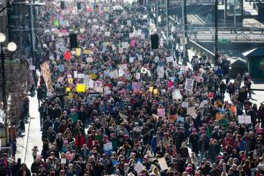 Seattle Women's march